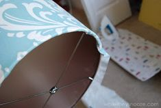 While They Snooze: How to Cover an Ugly Light Fixture Being Ugly, Light Fixtures, Cover, Crafts, Diy, Home Decor, Lighting, Manualidades, Decoration Home
