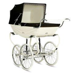English Baby Carriage | Vintage Pram — Silver Cross Balmoral and Kensington Heritage Prams ...