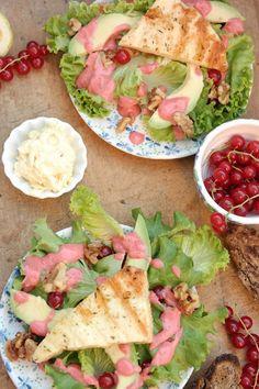 Sommersalat mit Johanisbeeren # Salat #Sommer