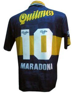 Camiseta de Maradona con el Boca Juniors