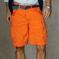 Classic Fit Cotton Cargo Short | Cargo short and Short men