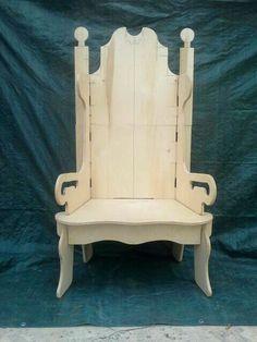 Santa's Puzzle Throne prototype