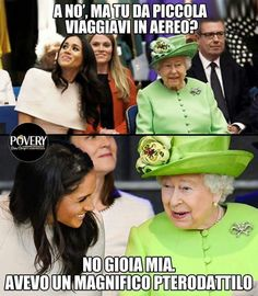 Really Funny, Funny Cute, Funny Images, Funny Photos, Queen Meme, Italian Memes, Elisabeth Ii, Funny Scenes, Funny Messages