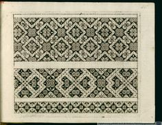 try these on grid paper. Patterns from 1597
