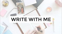 Write With Me // writing fiction