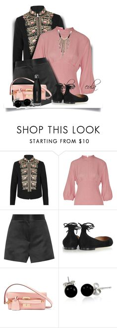"""#ContestOnTheGo #ContestEntry"" by eula-eldridge-tolliver ❤ liked on Polyvore featuring Vilshenko, Emilia Wickstead, The Row, Gianvito Rossi, Mark Cross and Bling Jewelry"