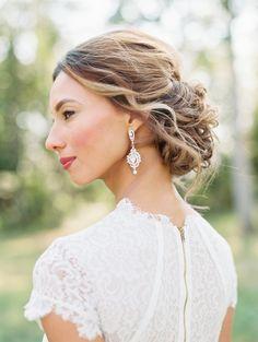 Photography: Krista A. Jones - kristaajones.com Hair: Jewel Hair Design - jewelhd.com/   Read More on SMP: http://stylemepretty.com/vault/gallery/56956