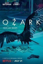 Trailers, clip, images and poster for the Netflix series OZARK starring Jason Bateman and Laura Linney. Serie Original Netflix, Tv Series On Netflix, Tv Series 2017, Tv Series To Watch, New Tv Series, Netflix Tv, Watch Tv Shows, Shows On Netflix, Movies And Tv Shows