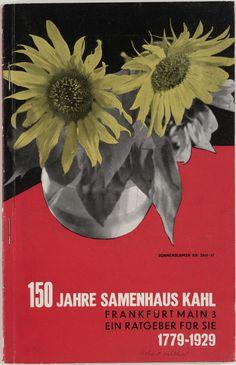 Robert Michel. 150 Jahre Samenhaus Kahl. 1929