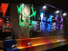 Nike window display inTaipei