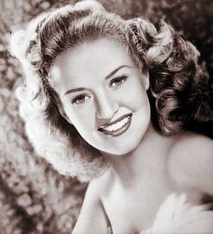 actress Betty Grable