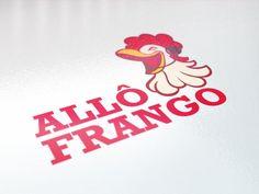 Logótipo para o Restaurante Allô Frango