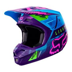 Dirt Bike Fox Racing 2016 V2 Helmet - Vicious SE | MotoSport