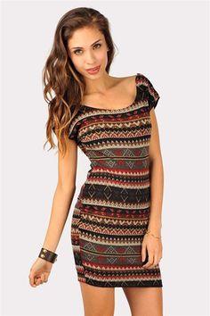 Catalina Eskimo Dress - Multi at Necessary Clothing