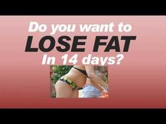 Do You Want To Lose Weight Fast Burning 8000 calories / month? It's Possibile in 14 Days. Discover Here How >> Quick Trim Reviews --> www.youtube.com/watch?v=4IQRwub6g0E