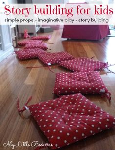 Simple props for play and story building. Pinned by Generation iKid