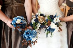 I think I found the colors for my future wedding :) I love all the colors together!