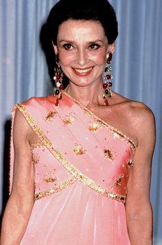 Rare Audrey Hepburn — Audrey Hepburn photographed backstage at the 58th...