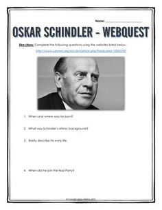 an introduction to the life of oskar schindler Librarything review user review - jamie638 - librarything this is the true story of oskar schindler, not the romanticized version of schindler's list, with many interesting details of his.