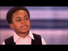 6 Year-Old Steals The Show With His Singing & Dancing. This kid has a big personality. - YouTube