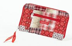 Bella Taylor Poppy Plaid Quilted Cotton Wrist Strap Wallet Bella. $23.95