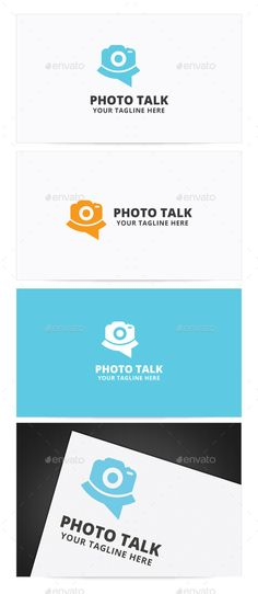 Photo Talk  - Logo Design Template Vector #logotype Download it here: http://graphicriver.net/item/photo-talk-logo/9250252?s_rank=1483?ref=nexion