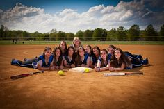 Softball Group Shot by iso100, via Flickr