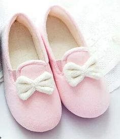 Japan Ice Cream Pink Mint Color Girls Heart Bowknot Indoor Slipper Winter Plush Shoes Female Preganant Slipper   Free Shipping-in Slippers from Shoes on Aliexpress.com | Alibaba Group