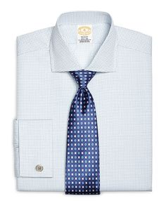 Clothing, Shoes & Accessories Men's Clothing Objective Finamore 1925 Shirt In Light Blue Textured With Shark Collar