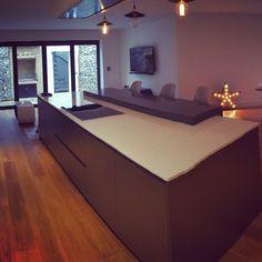 Kitchen #greykitchen #modernkitchen