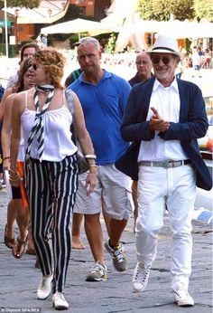 #spilberg in vacanza a #portofino #shopping #stile #fashion #vip #summer #love