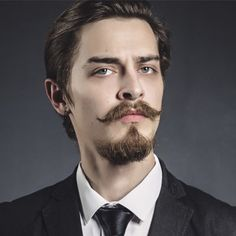 hairstyles with french beard