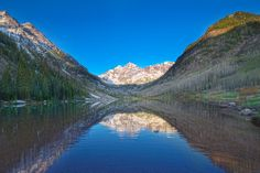 Maroon Bells, Aspen, Colorado Photographed by architectural photographer Brad Nicol. www.bradnicolphotography.com