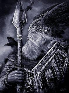 Odin & his Ravens
