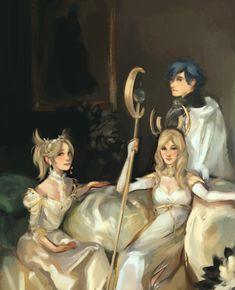 Fire Emblem: Awakening - Emmeryn, Chrom, and Lissa