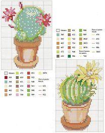 Cross-stitch Cactus