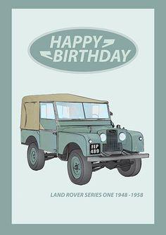 Land Rover S1 Birthday