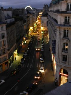 View from room 603 in Hotel Pont Royal