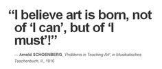 Arnold SCHOENBERG, 'Problems in Teaching Art', in Musikalisches Taschenbuch, II., 1910