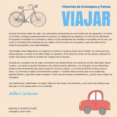 Viajar, by Julio Cortázar