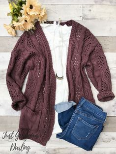 Cozy sweaters for Fall.even better when they have pockets!Cozy sweaters for Fall.even better when they have pockets! Plus Size Fall Outfit, Plus Size Fall Fashion, Plus Size Casual, Casual Plus Size Outfits, Casual Fall Outfits, Mom Outfits, Summer Outfits, Casual Winter, Casual Summer