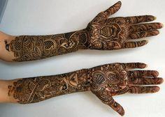 Mehandi Arabic Design for Brides