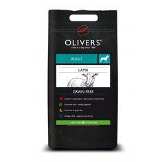 Kornfrit hundefoder med lam, medium - 12 kg Omega 3, Kobe, Grain Free, Lamb, Grains, Coffee, Medium, Olives, Doggies