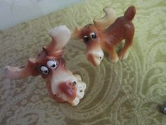 Moose Salt and Pepper Shakers a collectible by treasuresRtimeless, $6.00