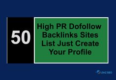 high pr dofollow profile backlinks list