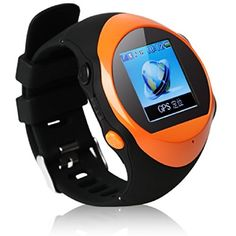 Black Friday 2014 Ampmall® SOS Function Kids Smartwatch Remote GPS Tracking Handfree Wireless Bluetooth Digital Smartwatch Real-time GPS Monitoring Unlocked Quad-band Network Smartphone (Orange) from AMP MALL Cyber Monday Watch Mobile Phone, Watch For Iphone, Smartwatch, Gps Tracker Watch, Bluetooth Watch, Best Smart Watches, Watch Deals, Man Child, Gps Tracking