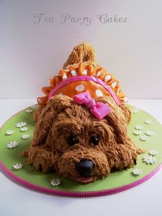 Molly's Puppy Cake