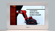 HYPEBOX® Transparent LCD Showcase - Case Study for Tools