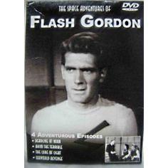 DVD  The Space Adventures of Flash Gordon set of 4 Episodes