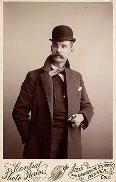 well tailored Victorian gentleman. Denver, CO ca. 1890's